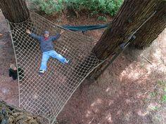 Barbara Butler-Extraordinary Play Structures for Kids-Treepolines: Treepoline