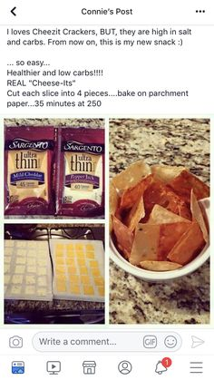 THM S easy snack. Low carb cheez-it. - Cheese Chips - Ideas of Cheese Chips - Cheese chip. THM S easy snack. Low carb cheez-it. Cetogenic Diet, Low Carb Diet, Zero Carb Meals, Simple Low Carb Meals, Diet Coke, Low Carb Recipes, Snack Recipes, Cooking Recipes, Low Carb Snack Ideas