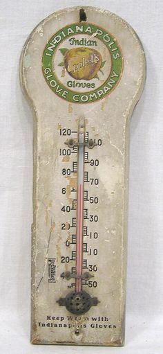 RARE 17 INCH REPLACEMENT GLASS TUBE FOR VINTAGE THERMOMETER RARE TO FIND