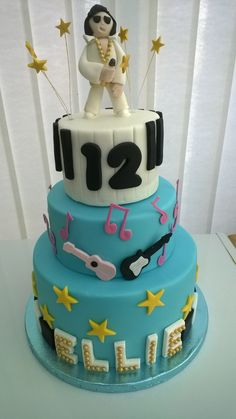 Elvis Birthday Cake