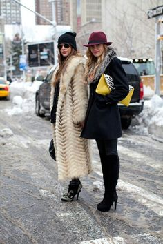 Let's all stay warm at NYFW.