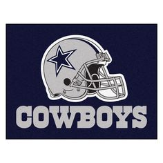 """Dallas Cowboys All-Star Mat 33.75x42.5 - Show your team pride and add style to your tailgating party with FANMATS area rugs. Made in U.S.A. 100% nylon carpet and non-skid recycled vinyl backing. Machine washable. Officially licensed. Chromojet printed in true team colors.FANMATS Series: ALLSTARTeam Series: NFL - Dallas CowboysProduct Dimensions: 33.75""""x42.5""""Shipping Dimensions: 34""""x23""""x1"""". Gifts > Licensed Gifts > Nfl > Dallas Cowboys. Weight: 3.40"""