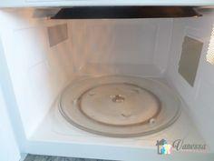 Como limpar o seu microondas facilmente