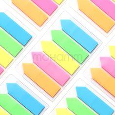 1 conjunto deli novidade à prova de bala adesivos recados adesivo marcador marcador de página de índice de tabulação bandeiras memo escola transparente papéis almofadas