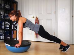 Fire up those abs with this Bosu Core Workout!
