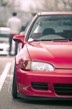 Honda Civic EG | Photography: Paul Cook | Aatomotion | Flickr
