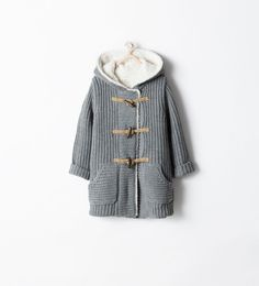 Image 2 of FLEECE PARKA WITH TOGGLES from Zara