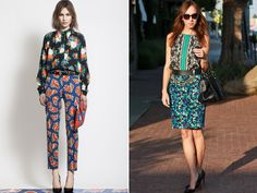 Summer Trends: How to Mix Prints - Trendymii Trendymii