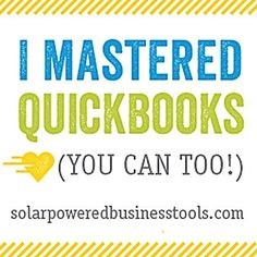 Don't Be Afraid of Your Business! QuickBooks Video Tutorial package (save 70%) - Photo Dough