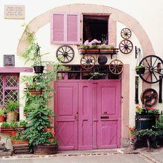 Alsace farmhouse, France. Photographs by Dennis Barloga