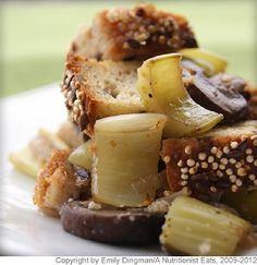 #Gluten-Free Herb and Mushroom Stuffing #HealthyHolidays