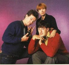 Emma Thompson, Hugh Laurie and Stephen Fry