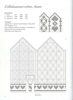 Photo from album Norske Luer - Norske Votter on Yandex.Disk - - Photo from album Norske Luer - Norske Votter on Yandex. Knitting Charts, Knitting Stitches, Knitting Needles, Baby Knitting, Knitting Patterns, Knitted Mittens Pattern, Crochet Mittens, Knitted Gloves, Crochet Chart