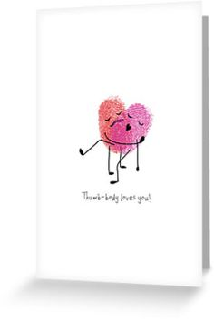 "For the crafty amongst us, ""thumb-body"" loves you!"