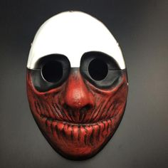 Halloween Collectibles Payday 2 theme Hit the color Scary mask Game Harvest Day 2 series resin mask D-001