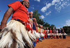 Celebration in Paraguay.