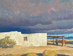 Maynard Dixon December Sky, Tucson 16 x 20 Landscape Designs, Landscape Art, Landscape Paintings, Landscape Photography, Art Photography, Western Landscape, Oil Paintings, Landscapes, New Mexico