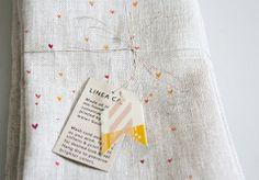 linen tea towel | clementine.