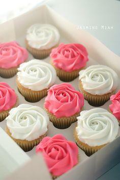 Imagem de cupcake, pink, and food