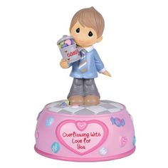 """Precious Moments """"Overflowing With Love For You"""" Musical - http://www.preciousmomentsfigurines.org/precious-moments/precious-moments-overflowing-with-love-for-you-musical/"""