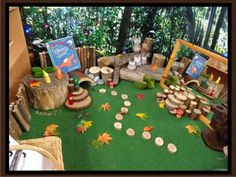 Woodland animals related play for the Early Years classroom - from Stimulating Learning with Rachel