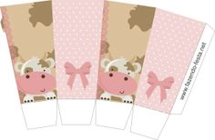 Cow in Pink: Free Printable Kit. Farm Animal Party, Farm Party, Party Printables, Free Printables, Miniature Cows, Oh My Fiesta, Diy And Crafts, Paper Crafts, Printable Box