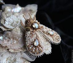 """Купить Брошь"""" букашик""""))) - жук, насекомые, украшения ручной работы, брошь-жук, украшения от людмилы"""