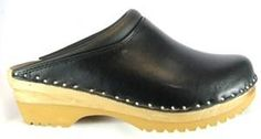 Rembrandt Open Back Clog in  Black