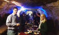 Stillwater groupon  Cave Tour with Appetizer and Wine for Two or Four at Luna Rossa (Up to 46% Off)