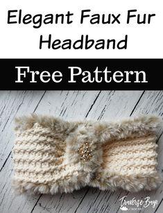 Elegant Faux Fur Crochet Headband - - Elegant Faux Fur Crochet Headband – free crochet fur headband pattern Source by traversecrochet Crochet Headband Free, Knitted Headband, Crochet Yarn, Hand Crochet, Free Crochet, Single Crochet, Crochet Stitches, Crochet Sheep, Doilies Crochet