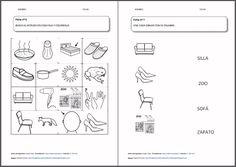MATERIALES - Lectoescritura: fonemas /z/ y /s/.  Actividades de lectura y escritura para trabajar la conciencia fonológica y la diferenciación entre el fonema /z/ y el fonema /s).  http://arasaac.org/materiales.php?id_material=1194