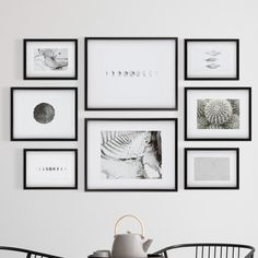 Gallery Wall Frame Set, Frame Wall Collage, Gallery Wall Layout, Picture Frame Sets, Photo Wall Collage, Modern Gallery Wall, Picture Placement On Wall, Gallery Wall Bedroom, Picture Frames On Wall