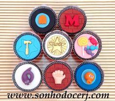 Cupcakes Detona Ralph! curta nossa página no Facebook: www.facebook.com/sonhodocerj