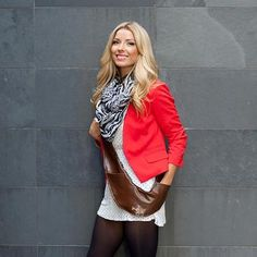 Wear your Sash Bag for a great day at the office or a night out with the girls!