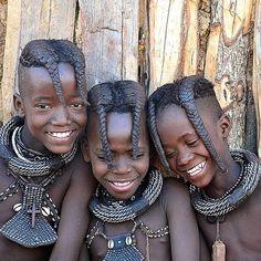 Himba Tribe, Opuwo, Kunene, Namibia, Africa