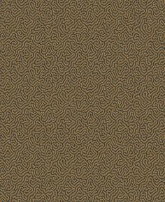 Vermicelli Black / Bronze wallpaper by Cole & Son