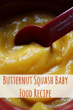 Butternut Squash Baby Food Butternut Squash Baby Food Use our Butternut squash baby food tutorial to make your own homemade baby food. Butternut squash baby food is simple and delicious for your child…. Toddler Meals, Kids Meals, Toddler Food, Butternut Squash For Baby, Baby Squash, Squash Baby Food Recipe, Squash Food, Making Baby Food, Baby Eating