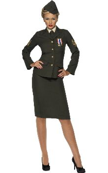 Have a cracking wartime inspired party - where I get to wear THIS.  second option would be a Captain America Party...