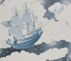 Star Wallpaper, Blue Wallpapers, For Stars, Midnight Blue, Sailing Ships, Clouds, This Or That Questions, Fishing, Friday
