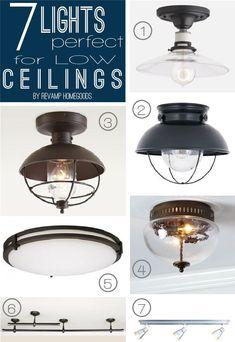 Resultado de imagen de light low ceiling