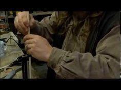 Traditional arrows for Longbows - YouTube