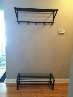 portis hutablage ikea flur pinterest garderobe flure und einrichtung. Black Bedroom Furniture Sets. Home Design Ideas