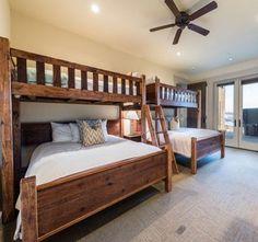 Barnwood Designer Loft Bunk Bed