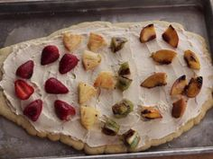 Grilled Fruit Pizzas Recipe   Ree Drummond   Food Network
