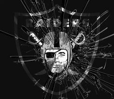Oak Raiders, Oakland Raiders Logo, Raiders Baby, American Football League, National Football League, Raiders Wallpaper, Sports Mix, Pro Football Teams, Football Conference