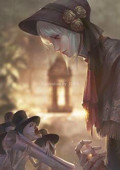Sif Dark Souls, Arte Dark Souls, Lady Maria, Soul Saga, Bloodborne Art, Old Blood, Devian Art, Fan Art, Video Game Art