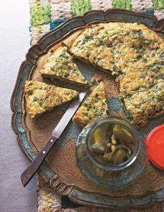 Kookoo sabzi | persian herb omelette