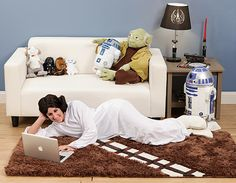 Enjoy the lush, plush fur of a flattened Wookie beneath your feet when you deck your living room with a Chewbacca rug.