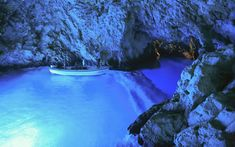 The Blue Cave, Croatia   Only accessible when the sea is flat as a millpond, this grotto on the Croatian island of Vis is a stunning spot for a plunge. When the sun is at its full height, penetrating beams of light from an underwater side-entrance turn the water in the cavern an irresistible, luminous blue. Make sure to reward yourself with a lobster lunch in nearby Komiža afterwards.