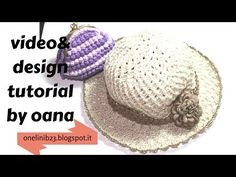 cappello Gelsomino all'uncinetto - YouTube